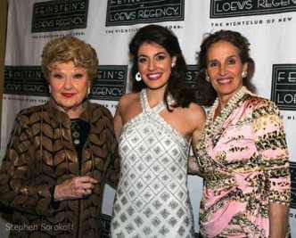 with Marilyn Maye and Andrea Marcovicci on opening night